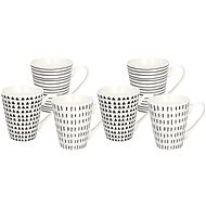 Tognana METROPOL GRAPHIC Set of Mug 330ml 6pcs - Set