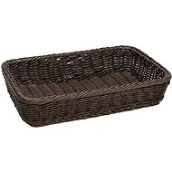 Tognana PROVENZA MARRON Rectangular basket 24 X 17cm - Basket