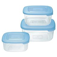 Tontarelli Food Container 3x1L Nuvola blue - Food Container Set