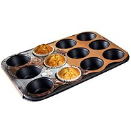 TORO Mold for muffins, 12pcs, 35 x 26.5 x 3cm, 0.4mm - Baking Mould