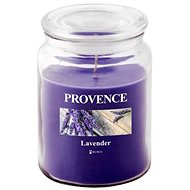 Provence Candle in Glass with Lid 510g, Lavender - Candle