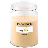 Provence Candle in Glass with Lid 510g, Vanilla - Candle