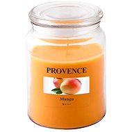Provence Candle in Glass with Lid 510g, Mango - Candle