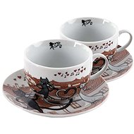 HOME ELEMENTS Porcelain Shapo Set Cats in the City 250ml