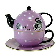 HOME ELEMENTS Tea Set for One, Cat