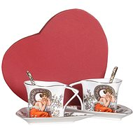 HOME ELEMENTS Shapo Set with Spoons - Mucha