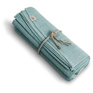 Lovely Linen Linen Tablecloth CLASSIC O150 ICE BLUE - Tablecloth