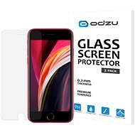 Odzu Glass Screen Protector for iPhone SE 2020, 2pcs - Glass protector