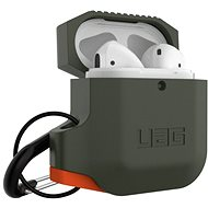 UAG Silicone Case Olive Drab/Orange for AirPods - Case