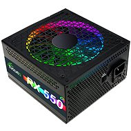 EVOLVEO RX 550 RGB LED 80Plus 550W - PC Power Supply