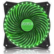 EVOLVEO 12L2GR LED 120mm Green - PC Fan
