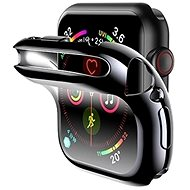 USAMS US-BH485 TPU Full Protective Case for Apple Watch 40mm Black - Protective Watch Cover