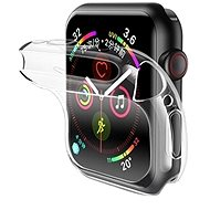 USAMS US-BH485 TPU Full Protective Case for Apple Watch 44mm Transparent - Protective Watch Cover