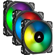 Corsair ML Pro RGB 120mm Three Fan Kit High Static Pressure PWM - PC Fan