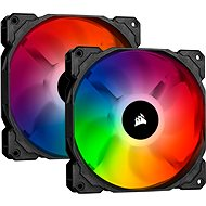 Corsair iCUE SP140 RGB PRO 140mm RGB LED Fan, Dual Pack with Lighting Node Core - PC Fan