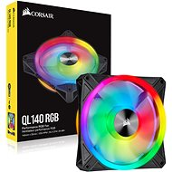 Corsair iCUE QL140 RGB 140mm PWM Single - PC Fan