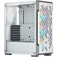 Corsair iCUE 220T RGB Tempered Glass, White