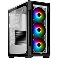Corsair iCUE 220T RGB Tempered Front Glass, White