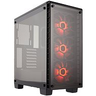 Corsair Crystal Series 460X RGB Tempered Glass - PC Case