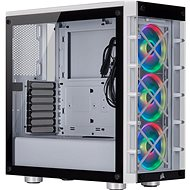 Corsair iCUE 465X RGB Tempered Glass, White