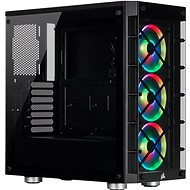 Corsair iCUE 465X RGB Tempered Glass, Black - PC Case