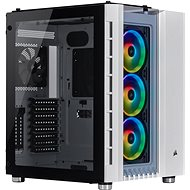 Corsair Crystal Series 680X Tempered Glass RGB, White