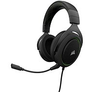 CORSAIR HS50 STEREO Green - Gaming Headset