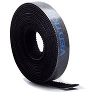 Vention Cable Tie Velcro, 5m, Black - Cable Organiser