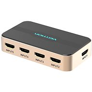 Vention 5 In 1 Out HDMI Switcher, Gold - Switch