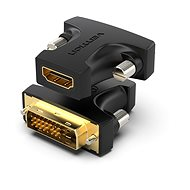Vention HDMI (F) to DVI (24+1) Male Adapter Black - Adapter