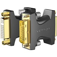 Vention DVI Male to Female Adapter, Black - Adapter