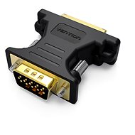 Vention DVI Female to VGA Male Adapter, Black - Adapter