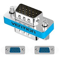 Vention VGA Male to Male Adapter Silvery Metal Type - Cable Connector