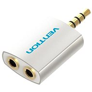 Vention 3.5mm Jack Male to 2x 3.5mm Female Audio Splitter, Silver - Adapter