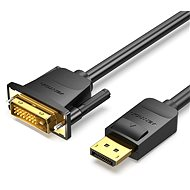 Vention DisplayPort (DP) to DVI Cable, 1m, Black - Video Cable