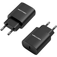 Vention USB-C Wall Charger 20W Black - AC Adapter