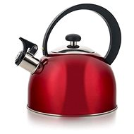 BANQUET Stainless kettle EVORA 2l, red - French Press