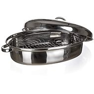 BANQUET AKCENT 46cm Stainless Steel Oval - Roasting Pan