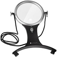 Vitility VIT-80410010 Large Reading Magnifying Glass with Lighting - Magnifying Glass