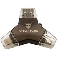 Viking USB Flash Drive 3.0 4-in-1 32GB Black - USB Flash Drive