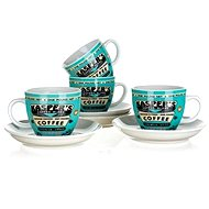 BANQUET set of cups COFFEE A11738 - Cup & Saucer Set