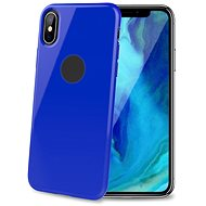 CELLY Gelskin for Apple iPhone XS Max Blue - Mobile Case