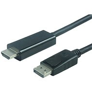Video Cable PremiumCord DisplayPort - HDMI M/M - Video kabel