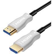 PremiumCord HDMI, Fiber Optic High Speed with Ether. 4K @ 60Hz 25m cable, M/M, gold-plated connect