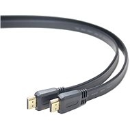 PremiumCord HDMI High Speed interface 2m, flat - Video Cable