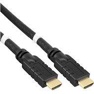 PremiumCord HDMI High Speed with ethernet connector 10m black - Video Cable