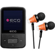 MP4 Player ECG PMP 30 8 GB Black - MP4 přehrávač