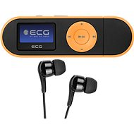 MP3 Player ECG PMP 20 4GB Black & Orange - MP3 přehrávač