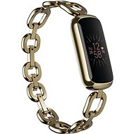 Fitbit Luxe Special Edition Gorjana Jewellery Band - Soft Gold/Peony - Fitness Tracker