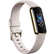 Fitbit Luxe - Lunar White/Soft Gold Stainless Steel - Fitness Tracker